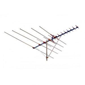 Antena N. A. para TV exterior 19 elementos