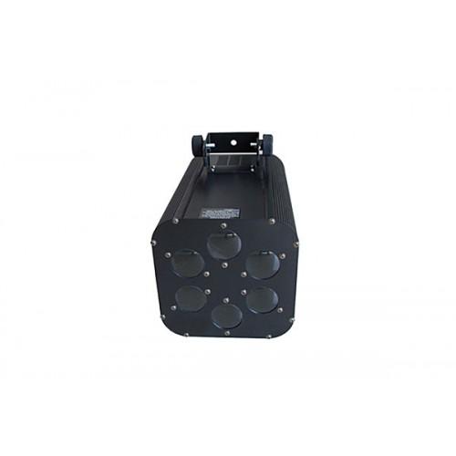 Cañon de Luces LED de 6 Bombillas marca Zebra