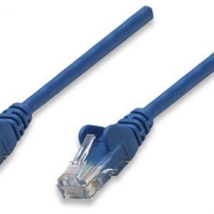 Cable UTP Intracom twistedpair 4 pares nivel 5 5mts azul