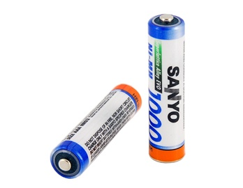 Baterias AAA Sanyo Recargable 2 piezas