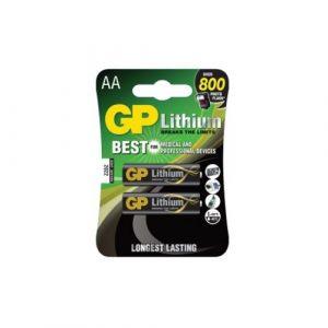 Bateria Gp  Litio AA Blister 2 piezas