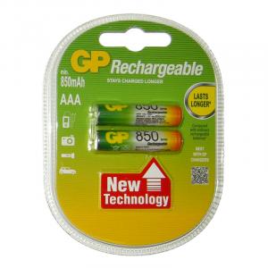 Batería Gp Recyko Recarg Aaa 850 Mah Carton 2 piezas