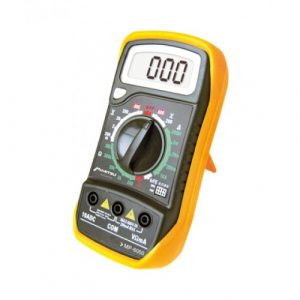 Multimetro Digital Bork Audible 200 Ohms/2 M Ohms