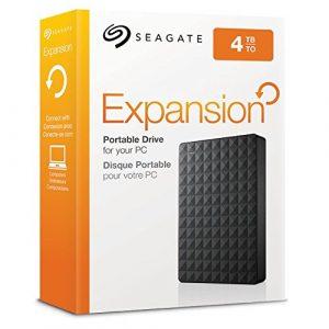 """Disco Duro Externo Seagate Expansión 4TB 2.5"""" Color Negro"""
