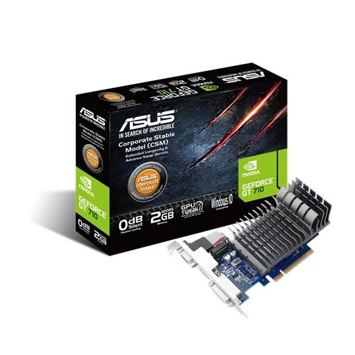 Tarjeta De Video ASUS GT 710 2GB DDR3