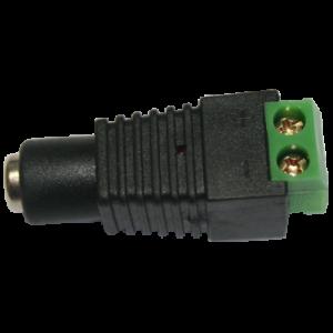 Conector de alimentación Provision-Isr PR-C09 - Conexión alámbrica (H) a CC (H)