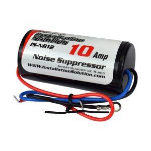 Filtro de ruido I.S. entre radio/motor/altern 10 amperios