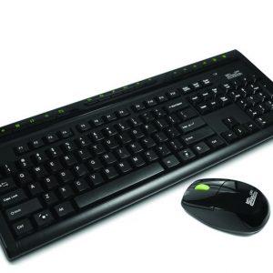 Teclado y mouse inalámbrico Klip Xtreme KKW-110S español