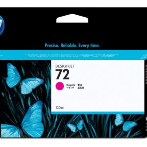 Cartucho HP 72 color Magenta de 130ml