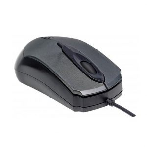 Mouse Alambrico Manhattan Color Gris