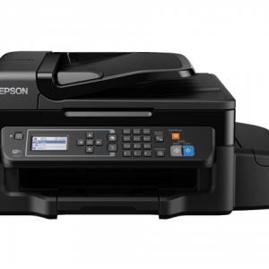 Impresora Multifuncional Epson Ecotank L575 de Sistema Continuo Wi-Fi Fax Ethernet