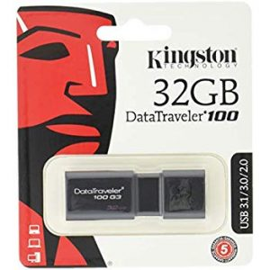 Kingston DT 100 G3 Unidad Flash USB 32 GB