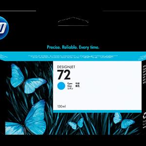 HP 72 - 130 ml - cián