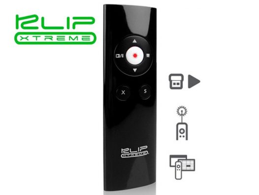 Klip Xtreme - Wireless USB Presenter - FCC-FDA Cert