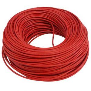 Cable Audiopipe Primario Cal. 14 Rojo 500'