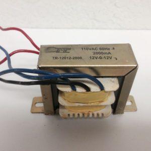 Transformador TMC 12V-0V-12V, 2A