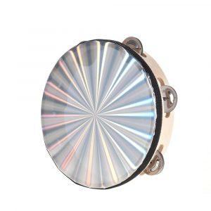 Pandero Zebra 8'' diamantado