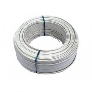 Cable Audiopipe Primario Cal. 10 Blanco 100'