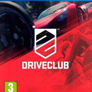 Videojuego Driveclub PS4