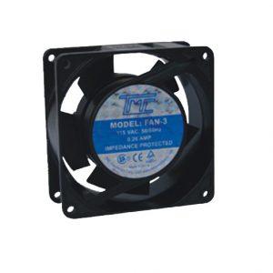 Ventilador TMC 92X38mm 5 aspas 110VAC, 0.26A