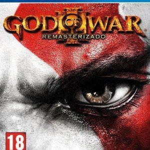 Videojuego God of war III remastered PS4