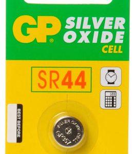 Bateria GP Ultra 357 Oxido De Plata Carton 5 piezas