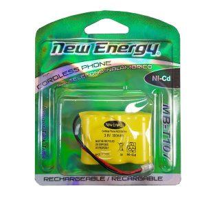 Bateria New Energy para telefono 3.6V 300mAh 3 1/4 AA