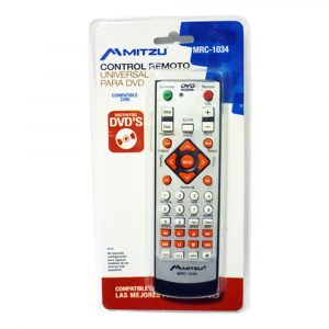 Control remoto Mitzu universal para TV, DVD