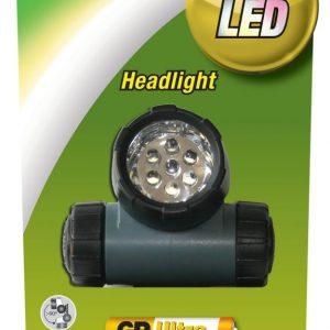 Linterna GP LED Cree de frente para exterior con bateria 3XAAA 1 pieza