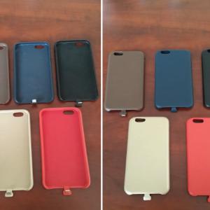 Adaptador para iPhone 6 para cargarlo inalámbricamente