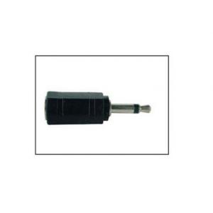 Adaptador 3.5mm a 2.5mm negro B/10 piezas