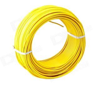 Cable Audiopipe Primario Cal. 12 Amarillo 100'