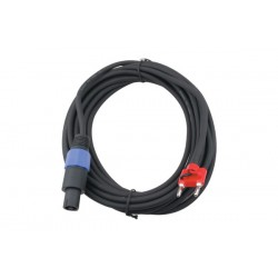 Cable Zebra Speakon-Banana 15`