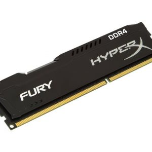 Memoria RAM DDR4 Marca Kingston Hyperx Fury de 4GB para Desktop de 2400Mhz