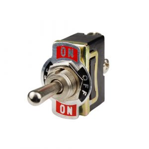 Switch N.A. ON-OFF-ON 10A250V, 15A125V