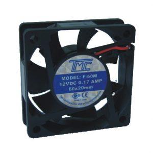 Ventilador TMC repuesto 60X25 5 aspas 12VDC
