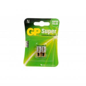 Bateria GP Super Alkalina N 1.5V (LR-1) Carton 2 piezas
