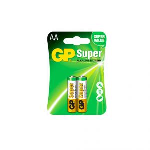 Bateria GP Super Alkalina AA 1.5V Carton 2 piezas