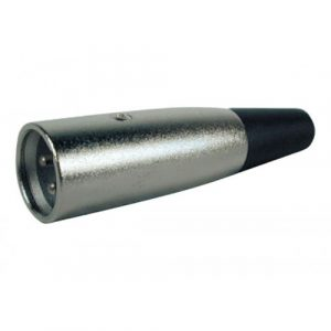 Conector P/Microfono Macho, 3 Pines