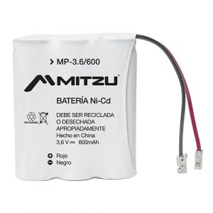 Bateria Mitzu P/Telefono Recargable 3AA