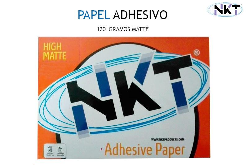 Papel Adhesivo Nkt 120 Gramos Matte Tienda En Línea Kémik