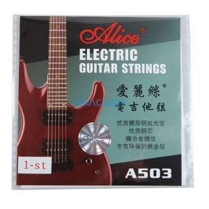 Set de cuerdas Alice para guitarra electrica niqueladas