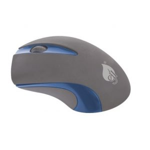 Mouse Inalambrico Green Leaf Color Azul