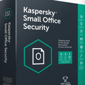 Kaspersky Small Office Security para 1 Servidor 5 PC y 5 Moviles Por 1 Año