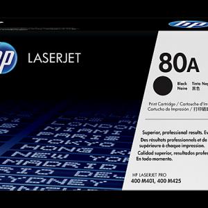 Tóner HP 80A  paquete de 1