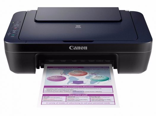 Impresora Multifuncional de Cartuchos Canon Pixma E402 USB