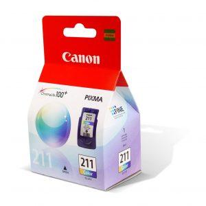 Cartucho Canon CL211 Color