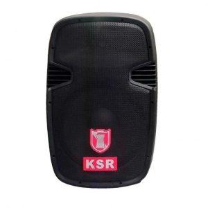"Bocina Kaiser 15"" C/ Soporte, Mic./USB/SD/BT/FM Control Remoto Luz Led"