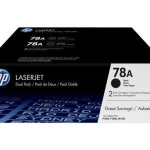 Tóner HP 78A (Paquete de 2 Toner)