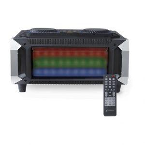 Bocina Kaiser FM/BT/USB/SD/Led audiorítmica
